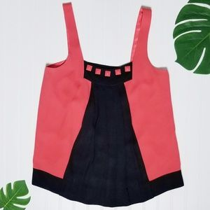 Marc by Marc Jacobs | Silk Pleated Tank Top | 6